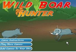 Whild board hunter..