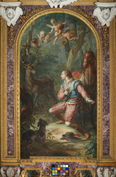 7 - Vittorio Amedeo Rapous (1728-1789), Sant'Uberto. Cappella di Sant'Uberto, Palazzina di Caccia di Stupinigi.