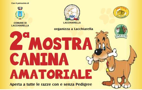 Mostra canina lacchiarella