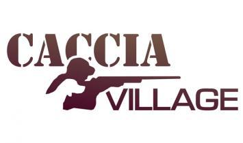 caccia village logo