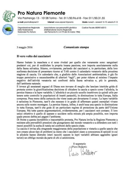 Pro Natura Piemonte