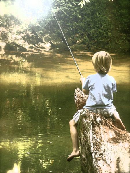 Bambino pescatore