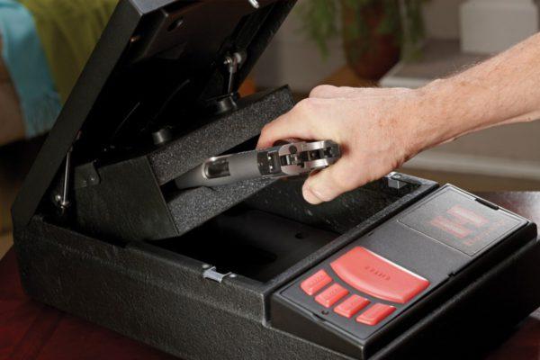 Cassetta sicurezza per pistola