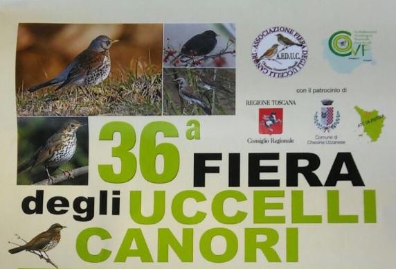 36ª fiera uccelli