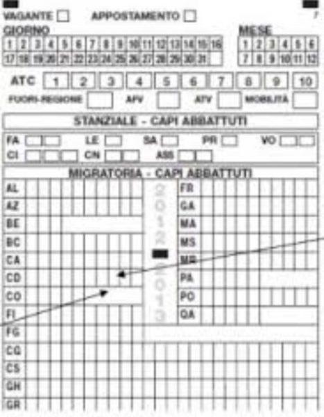 Calendario Venatorio 2020 Campania.Campania Tesserino Venatorio Telematico
