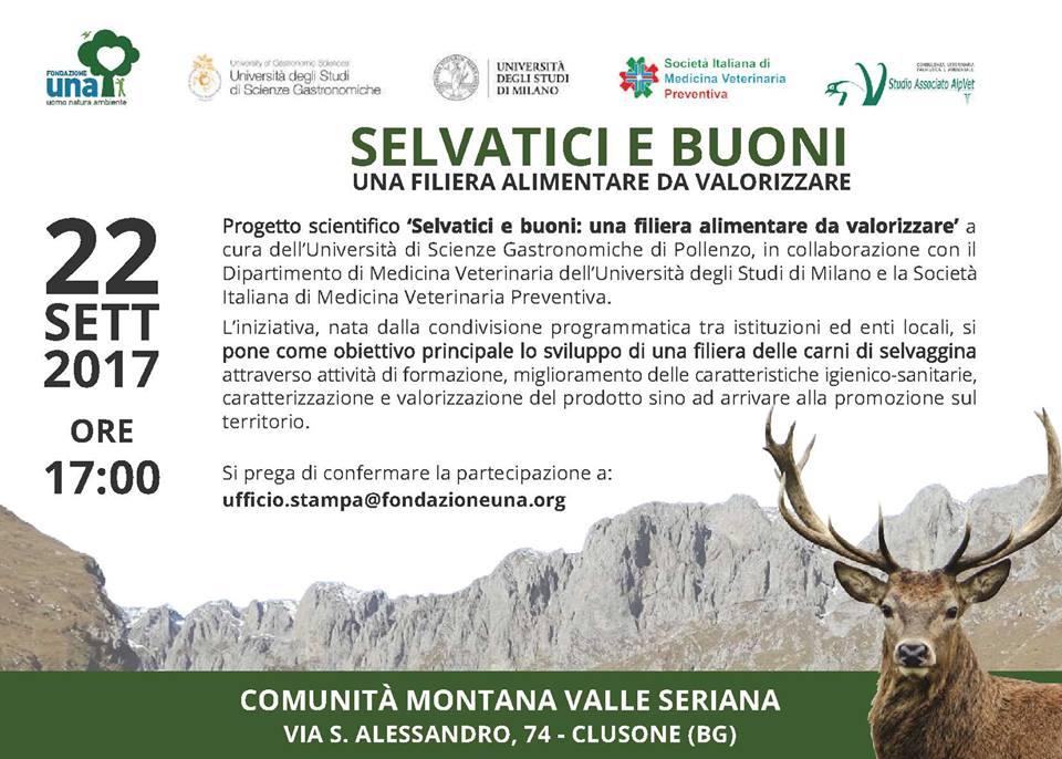 Fondazione UNA Onlus. Parte il progetto Selvatici e Buoni