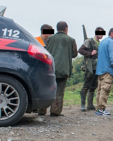 Palazzolo (BS). Animalisti vegani disturbano i cacciatori, deferiti per violenza privata