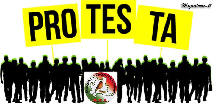 ACL.PROTESTA CONTRO LA REGIONE IL 14 NOVEMBRE A MILANO