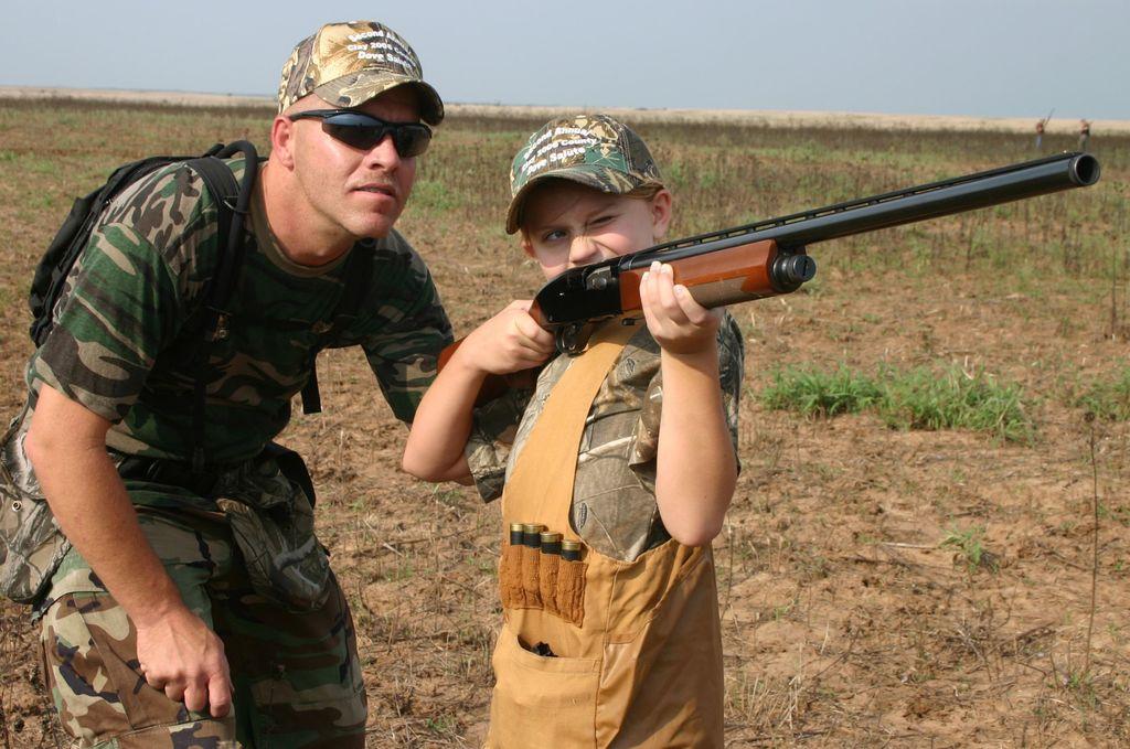 Stati Uniti: nessuna età minima per andare a caccia in wisconsin