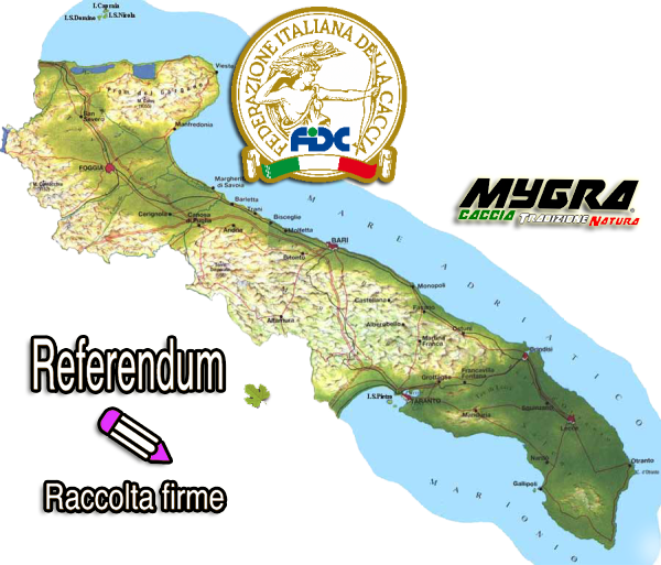 FIDC PUGLIA A LECCE CONTESTA RACCOLTA FIRME