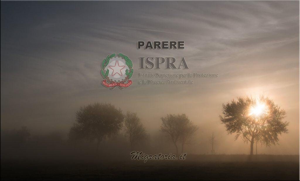 La natura dei pareri ISPRA, ex INFS, in materia venatoria