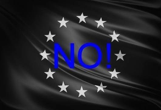 Bandiera Europa Nera