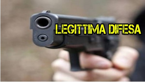 LEGITTIMA-DIFESA pistola...