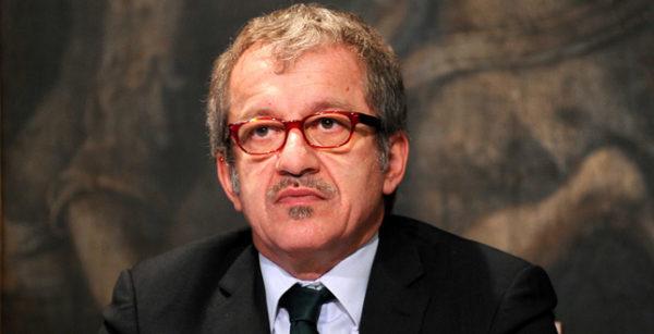 Roma, convegno alla Camera 'Pirelli, l'impegno nella sicurezza stradale per i giovani'. Nella foto : Roberto Maroni