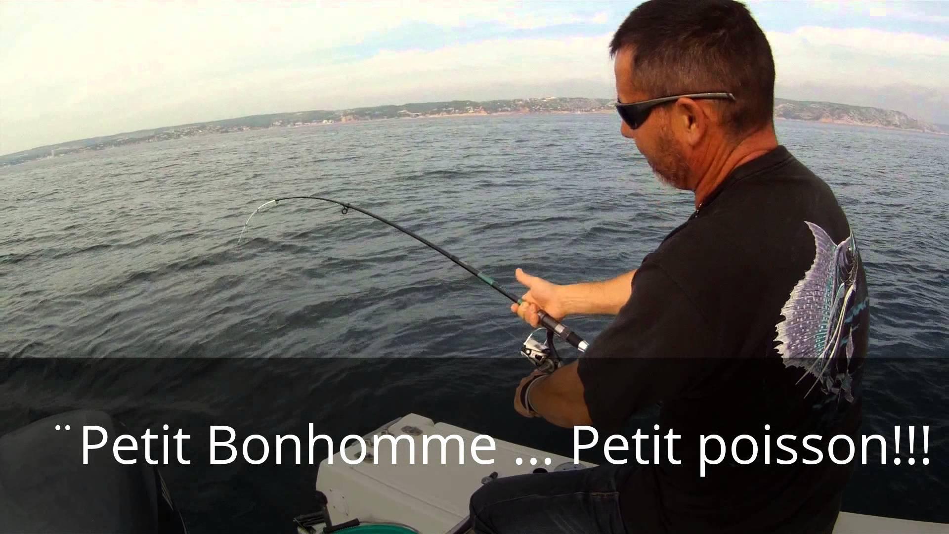 Petit cours de pêche à la pierre (daurades) avec notre ami Jean Claude –