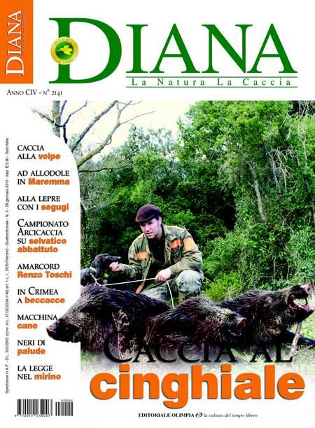 Diana n. 2 2010 in edicola dal 14 gennaio 2010