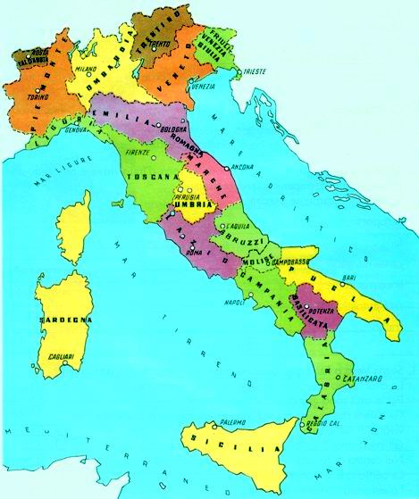 Indirizzi e telefono di tutti gli ambiti territoriali di for Struttura politica italiana